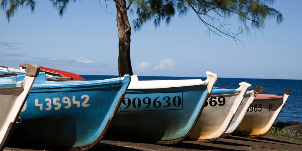 bateaux Anse Des Cascades