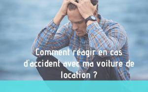 Illustration comment réagir en cas d'accident avec ma voiture de location